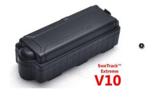 GPS tracker SweTrack Extreme V10 - stöldförebyggande pryl och åtgärd