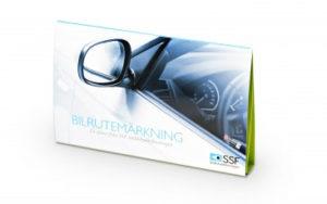 SSF-bilrutemärkning - stöldförebyggande åtgärd